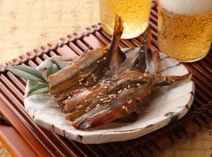 江政 焼ちんみししゃも盛付 富山県 氷見 魚 水産加工品